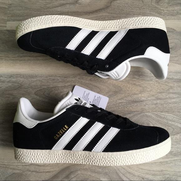 adidas schuhe, schwarze gazelle j 6 neue poshmark